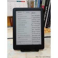 Máy đọc sách Likebook P6 + Bao da + Túi chống sốc + Kệ để bàn + Tặng kho sách  độc quyền từ Bibox