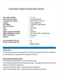 Format My Resume Stunning 48 Engineering Resume Samples PDF DOC Free Premium Templates