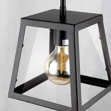 flynn rod pendant clear glass oil rubbed bronze ceiling light fixture chandelier