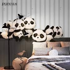 Free Shipping Continental Cartoon Panda Meng Department Wallpaper Mural  Living Room Sofa Bedroom TV Backdrop Custom