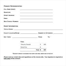 Blank Rental Application Free Rental Forms To Print And Printable Agreement Form Blank Room