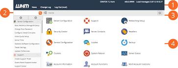 The WHM Interface - Version 68 Documentation - cPanel Documentation