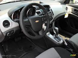 Jet Black/Medium Titanium Interior 2012 Chevrolet Cruze LS Photo ...
