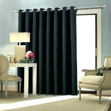 sliding glass door curtain ideas french rods curtains covering window coverings do