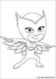 Very Attractive Design Pj Masks Coloring Pages To Print Mask