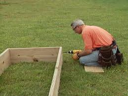 how to build a garden. Attach Sides To Ends How Build A Garden