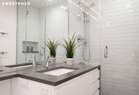 architecture smoke glass subway tile salle de bains et carrelage regarding white throughout bathroom inspirations 14