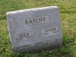 """Mary Ellen """"Ella"""" Blair Ratliff (1894-1968) - Find A Grave Memorial"""