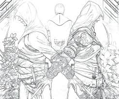 Assassins Creed Coloring Book And Ideas Pages Or Assassin Colouring
