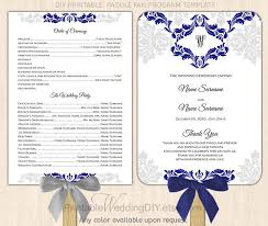 How To Design Wedding Program Template
