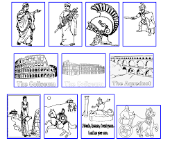 Small Picture italian art for kids AS THE ROMANS DO Roman Colouring pages