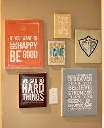 canvas wall art love quotes