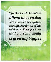 Christening Messages And Baptism Card Wishes WishesQuotes Beauteous Godparents Love Quote In English