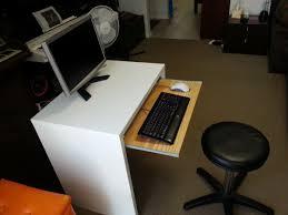 ikea micke desk with keyboard tray