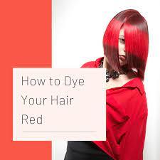 how to dye hair red bellatory