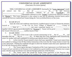 Free Commercial Lease Agreement Forms To Print Free Commercial Rental Lease Agreement Form Form Resume Examples