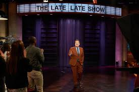 On the late late show, james corden stepped in as the general manager for the forum during dressed in snake logo crop top over a fishnet top, which barely covered anything, corden learned. Inside James Corden S Star Studded Prime Time Coronavirus Special Vanity Fair