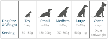 How Much How Often Natural Dog Food Cotswold Raw