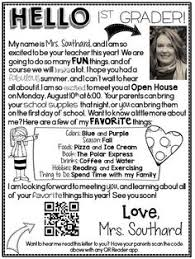 Freebie Editable Welcome Letter Teach School Teacher Classroom