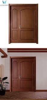 Solid Wood Front Door Designs Main Entry Double Solid Wood Metal Nails Design Door Double Opening Door Buy Main Entry Double Door Solid Wood Metal Door Double Opening Door