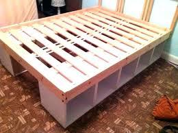 build your own bed frame diy