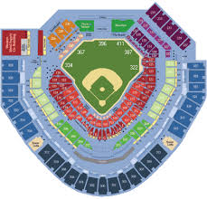 Petco Park Seating Chart Game Information
