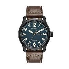 mens citizen watches kohl s citizen eco drive men s chandler leather watch bm8478 01l