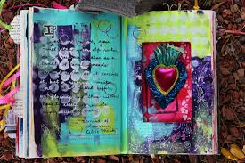 more altered book pages