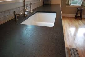 image of how to clean honed black granite countertops