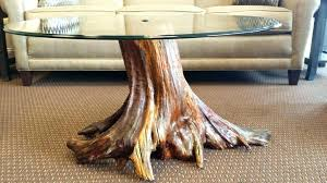 tree trunk table base the details unique coffee dining uk