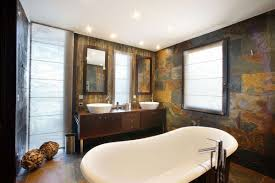 Fine Simple Rustic Bathroom Designs Image Of Modern Decor Throughout Ideas