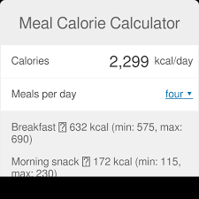 Meal Calorie Calculator Omni
