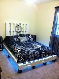 Pallet Bedroom Furniture Pallet Bed 101 Pallets Part 2