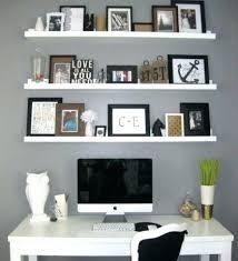 wall shelves office. Office Floating Shelves Shelf Desk With Wall
