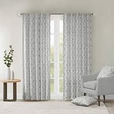 Grey Curtains For Living room , Modern ... - Amazon.com
