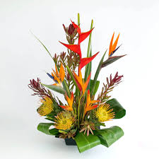 Tropical Flower Arrangements Warm Flowers Assortment Decorating Exotic  Flower Arrangements Uk