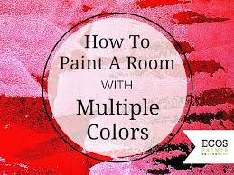 painting a room two colorsPainting With Two Colors  ECOS Paint Blog