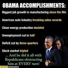 Obama Successes Chart Obama Accomplishments