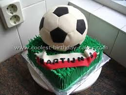 How To Decorate A Soccer Ball Cake Sports Ball Cake Birthday Party Ideas 54