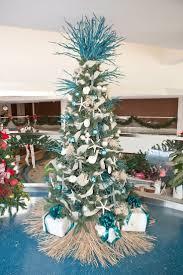 Southern Flair Designs Christmas tree at Children's Hospital of Alabama -  grass tree skirt