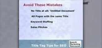 How To Write Seo Friendly Page Titles And Title Tags Internet