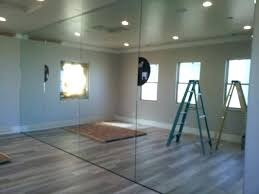 garage gym mirrors medium size of wall mirrors for home gym install wall mirror home gym
