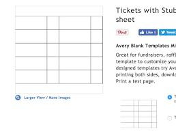 Avery Tickets Templates Stag Party Tickets Templates Templates Mtq2njc3 Resume