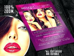 Hair Salon Flyer Templates Salon Flyer Templates Stingerworld Co