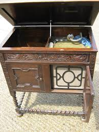 Cabinet Record Player 1920s Cabinet Record Player With Assorted Records Clare Auction