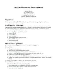 Sample Cover Letter For Entry Level Job Entry Level Accounting Job Cover Letter Entry Level Accounting