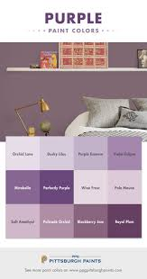 Paint Colors For Bedrooms Purple 17 Best Ideas About Purple Paint Colors On Pinterest Purple Wall