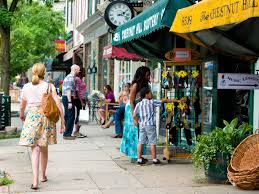 germantown avenue is the ping and dining hub for philadelphia s tony chestnut hill neighborhood located on the northwest edge of the city