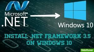 net framework 3 5 cannot install on
