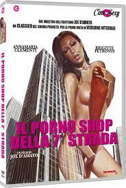 D Amato sulla Settima Strada il Porno Shop delle Mean Streets